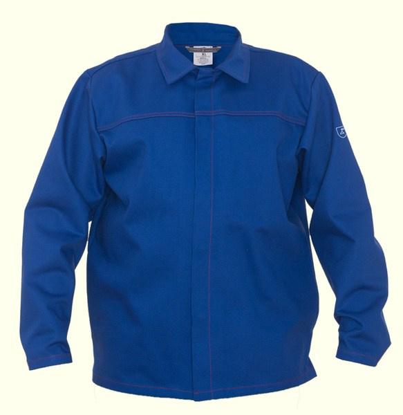 Bluza trudnopalna, niebieska, bawełniana