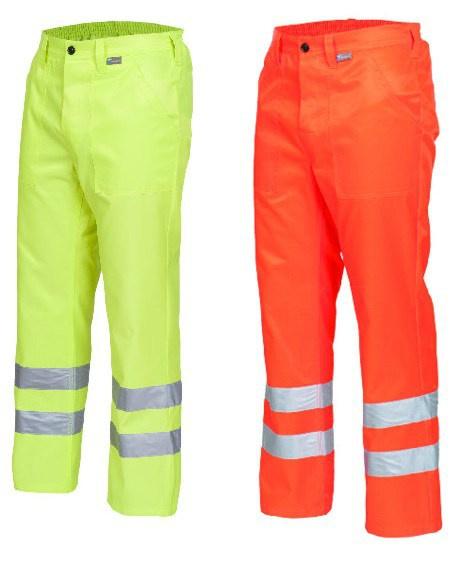 Spodnie robocze z odblaskami DROGOWIEC
