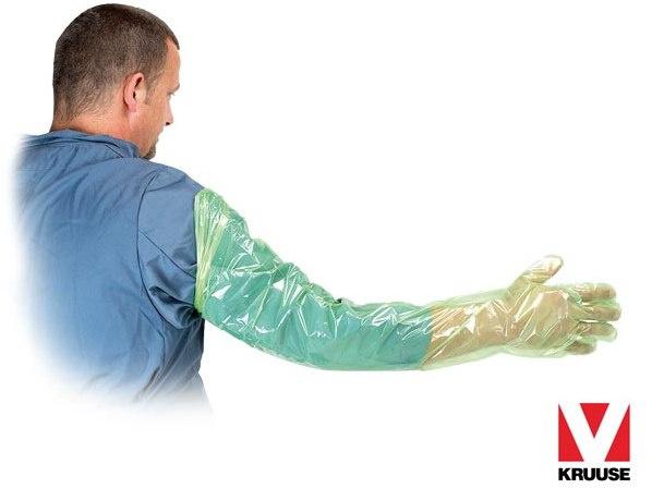 Rękawice inseminacyjne rektalne GREEN SOFT KRUUSE