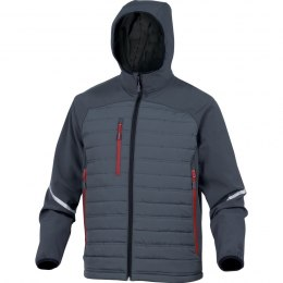 Kurtka SOFTSHELL, MOTION, DELTA PLUS, szara