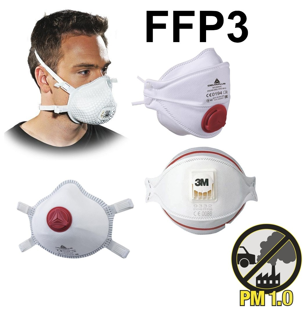 Maski FFP3 maseczki - Sklep BHP