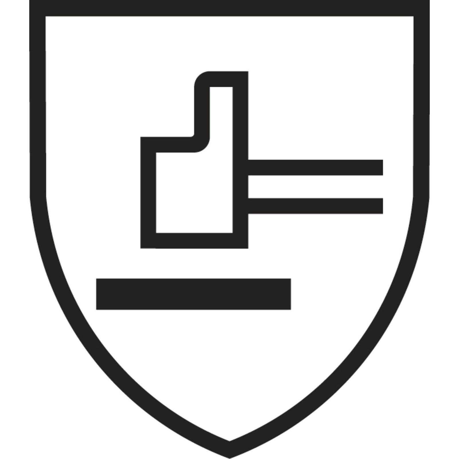Rękawice chroniące przed zagrożeniami Mechanicznymi ( Poziomy otrzymane po stronie chwytnej )